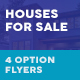 Houses For Sale Flyers – 4 Options - GraphicRiver Item for Sale
