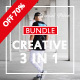 Special Creative Bundle 3 IN 1 PowerPoint Templates - GraphicRiver Item for Sale