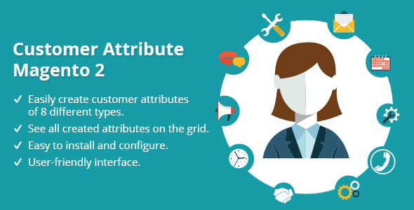 Customer Attribute Magento 2 - CodeCanyon Item for Sale