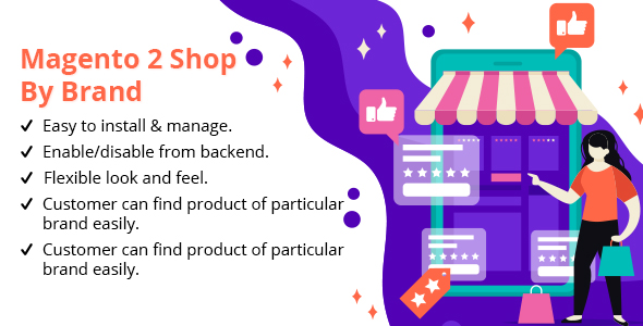 Magento 2 Shop By Brand - CodeCanyon Item for Sale