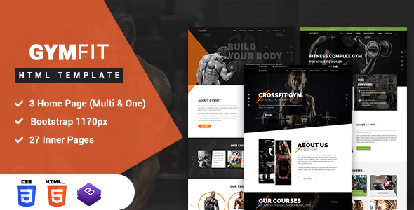 Gym Fit Gym Fitness Html5 Responsive Template By Netizenstech