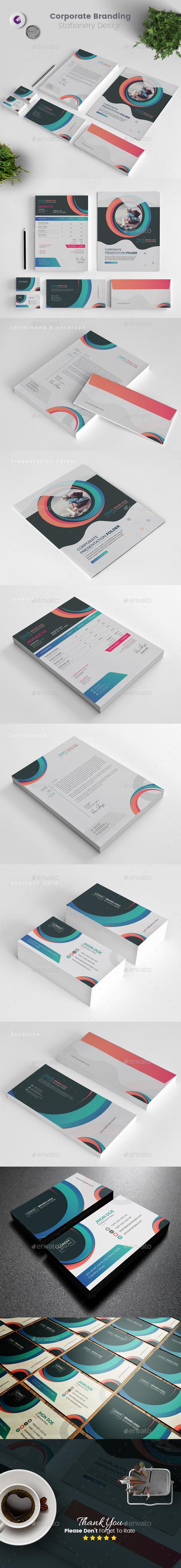 Branding Stationery Template - Stationery Print Templates