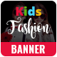 Kids Fashion Banner Set - GraphicRiver Item for Sale