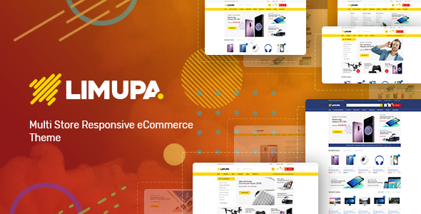 Limupa - Technology OpenCart Theme (Included Color Swatches) - Technology OpenCart