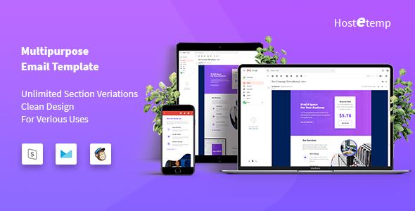 Hostetemp - Multipurpose Email Templates - Email Templates Marketing