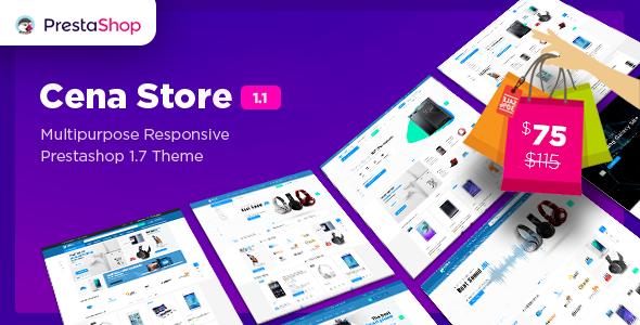 Cena Store - Multipurpose Responsive Prestashop 1.7.3 & 1.7.4 Theme 10+ Homepages - Technology PrestaShop