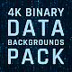 4K Binary Data Backgrounds Pack - VideoHive Item for Sale