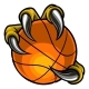 Eagle Bird Monster Claw Holding Basketball - GraphicRiver Item for Sale