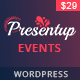 Presentup - Event Planner & Celebrations Management WordPress Theme - ThemeForest Item for Sale