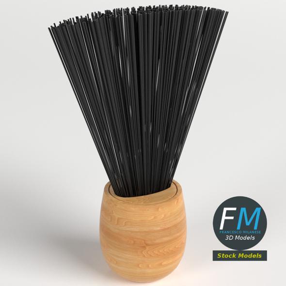 Barber Brush 1 - 3DOcean Item for Sale