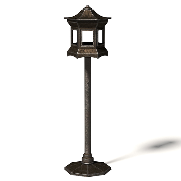 Metal Bird Feeder 3D Model - 3DOcean Item for Sale