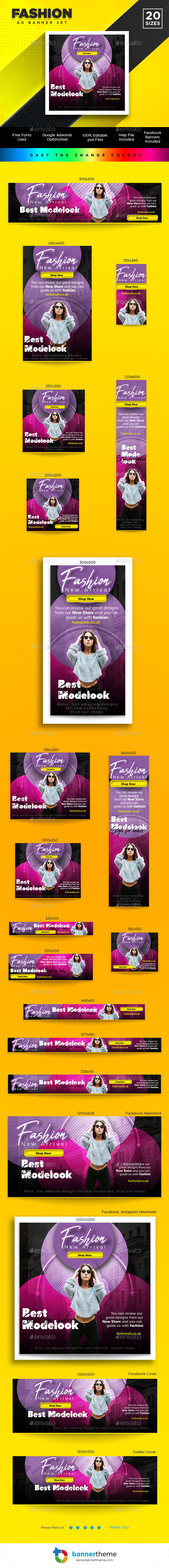 Fashion Banner - Banners & Ads Web Elements