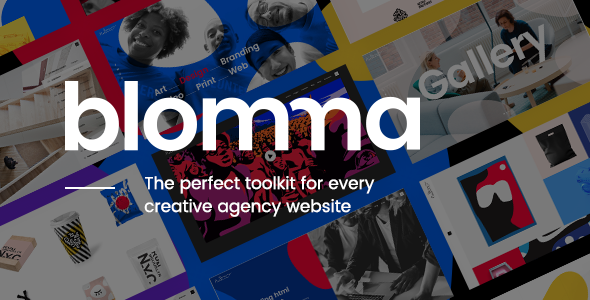 Blomma - Creative Agency Portfolio Theme Free Download | Nulled