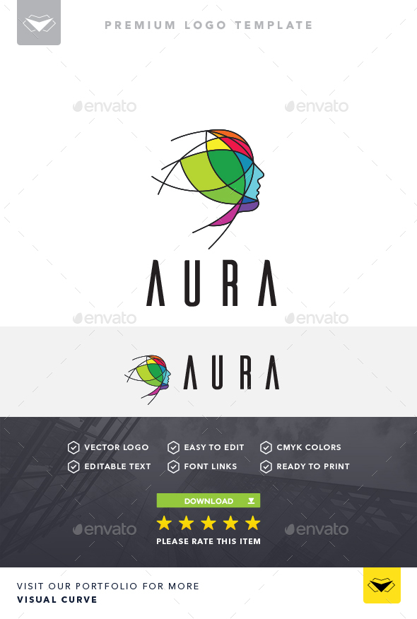 Aura Logo - Logo Templates