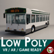 Low-Poly Cartoon City Bus - 3DOcean Item for Sale