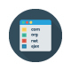Web Design & Programming Flat Circle Icons - GraphicRiver Item for Sale