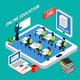 Education Isometric Concept - GraphicRiver Item for Sale