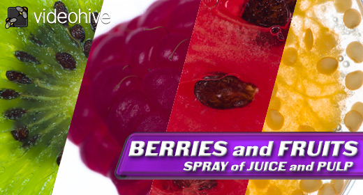 Crush BERRIES and FRUITS