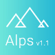 Alps - App Landing Page + Rtl support - ThemeForest Item for Sale