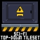 Sci-fi Top Down Tileset - GraphicRiver Item for Sale