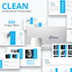 Clean Premium Powerpoint Presentation Templatee - GraphicRiver Item for Sale