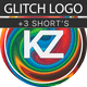 Free Download Glitch Logo Nulled