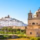 Ostuni white town skyline and church, Brindisi, Apulia, Italy. - PhotoDune Item for Sale