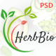 HerbBio - Vegetarianism & Nutritionist PSD Template - ThemeForest Item for Sale