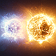 Alien Binary Star System - VideoHive Item for Sale