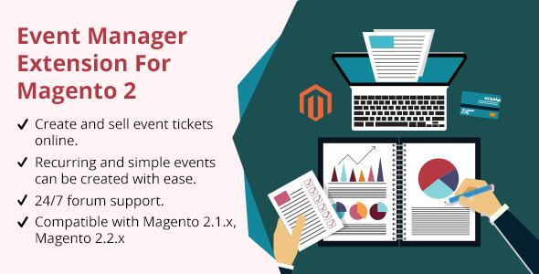 Event Manager Extension For Magento 2 - CodeCanyon Item for Sale