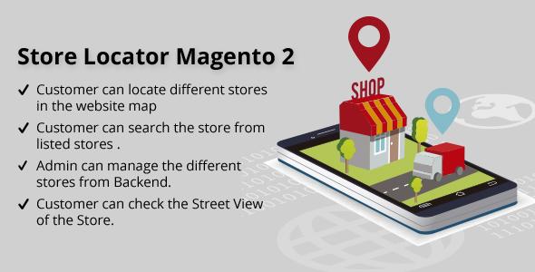 Store Locator Magento 2 - CodeCanyon Item for Sale