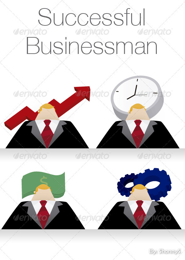 Sucessful businessman - Concepts Business