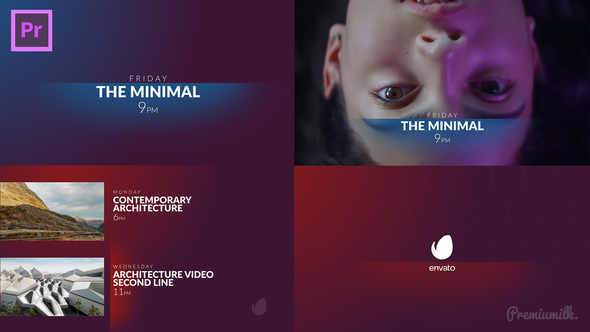 The Minimal Broadcast Package Essential Graphics   Mogrt