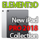 Element3D - iPad Pro (2018.) - 3DOcean Item for Sale