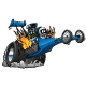 Top Fuel Dragster Cartoon Vector illustration - GraphicRiver Item for Sale