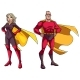 Senior Superhero Couple on White - GraphicRiver Item for Sale