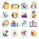Deadline Flat Icons - GraphicRiver Item for Sale