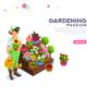Florist Female Editable Banner - GraphicRiver Item for Sale