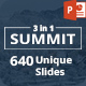 3 in 1 Summit PowerPoint Template Bundle - GraphicRiver Item for Sale