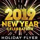 New Year Party - Flyer Template - GraphicRiver Item for Sale