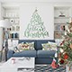 Christmas Living Room Set - GraphicRiver Item for Sale