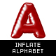 Inflated English Alphabet - GraphicRiver Item for Sale