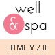 well&spa- Responsive Spa/Beauty Single Page  Template - ThemeForest Item for Sale