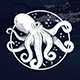 Ocean Octopus Logo Template - GraphicRiver Item for Sale