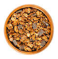 Crunchy chocolate granola in wooden bowl - PhotoDune Item for Sale