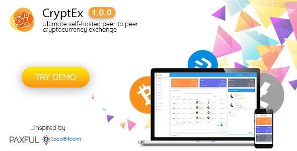 CryptEx - Ultimate peer to peer CryptoCurrency Exchange platform (with self-hosted wallets)            Nulled