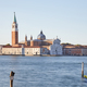 San Giorgio Maggiore island and basilica in Venice at sunset - PhotoDune Item for Sale