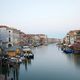 Grand Canal in Venice, clear sky in summer in Italy, nobody - PhotoDune Item for Sale