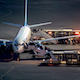 Boarding The Plane At Airport - VideoHive Item for Sale