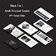 3 in 1 Premium - Black Bundle Powerpoint Template - GraphicRiver Item for Sale